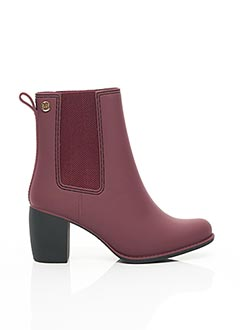 Bottines/Boots rouge GIOSEPPO pour femme