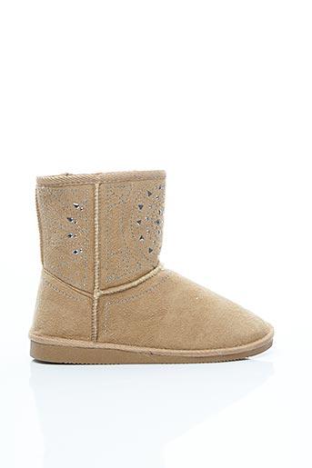 Bottines/Boots beige ASSO pour fille