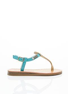 Sandales/Nu pieds bleu LES TROPEZIENNES pour fille