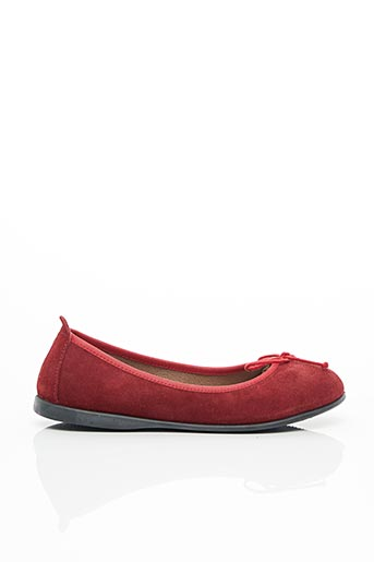 Ballerines rouge GIOSEPPO pour fille