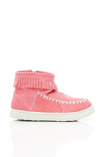 Bottines/Boots rose ESPRIT pour fille