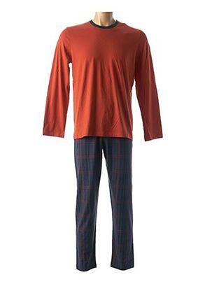 Pyjama orange IMPETUS pour homme