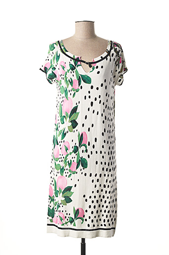 Robe pull blanc JEI'S BY LETIZIA DENARO pour femme