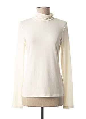 Sous-pull beige LAUREN VIDAL pour femme
