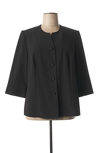 Veste casual noir SOMMERMANN pour femme