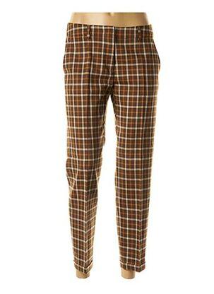 Pantalon 7/8 marron MAXMARA pour femme