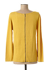 Pull col rond jaune WEEKEND MAXMARA pour femme seconde vue