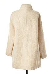 Manteau long beige ROSSO 35 pour femme seconde vue