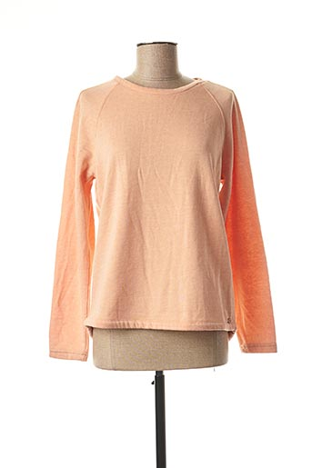 Sweat-shirt orange TIMEZONE pour femme