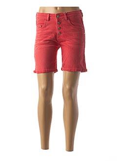 Produit-Shorts / Bermudas-Femme-TIMEZONE