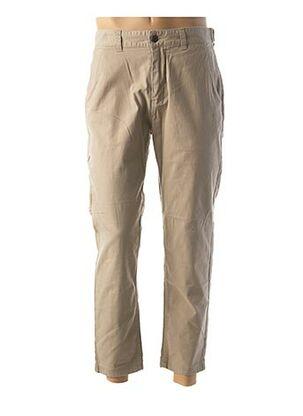 Pantalon casual beige JACK & JONES pour homme