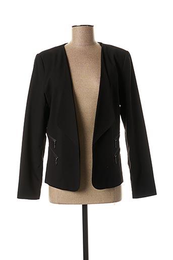 Veste casual noir IMITZ pour femme