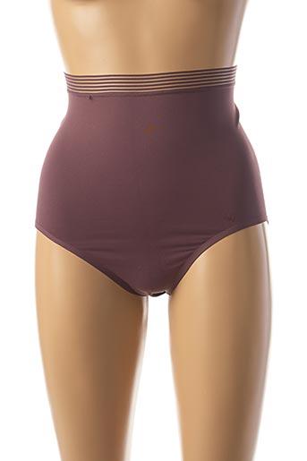 Culotte gainante violet TRIUMPH pour femme
