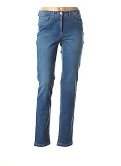 Jeans skinny bleu JOCAVI pour femme