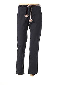Pantalon 7/8 bleu JOCAVI pour femme