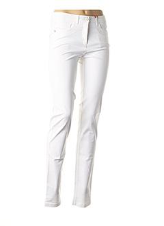 Pantalon casual blanc JOCAVI pour femme