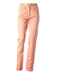 Pantalon casual orange JOCAVI pour femme