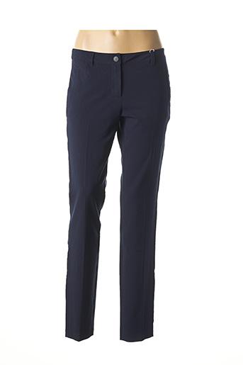 Pantalon chic bleu TOM TAILOR pour femme