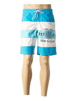 Short bleu TOM TAILOR pour homme