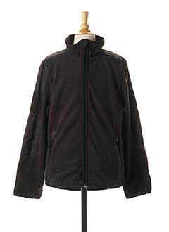 Veste casual noir TOM TAILOR pour garçon