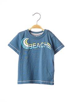 T-shirt manches courtes bleu TOM TAILOR pour garçon
