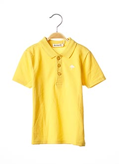 T-shirt manches courtes jaune BILLYBANDIT pour garçon