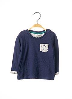 T-shirt manches longues bleu TOM TAILOR pour garçon