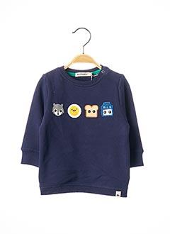 Sweat-shirt bleu BILLYBANDIT pour garçon