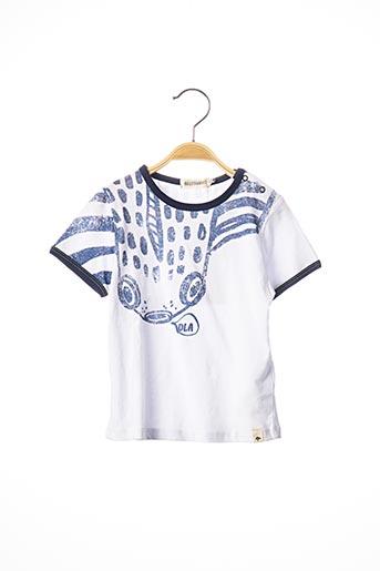 T-shirt manches courtes bleu BILLYBANDIT pour garçon