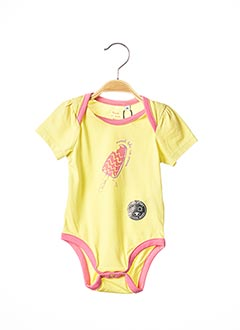 Body jaune TOM TAILOR pour fille