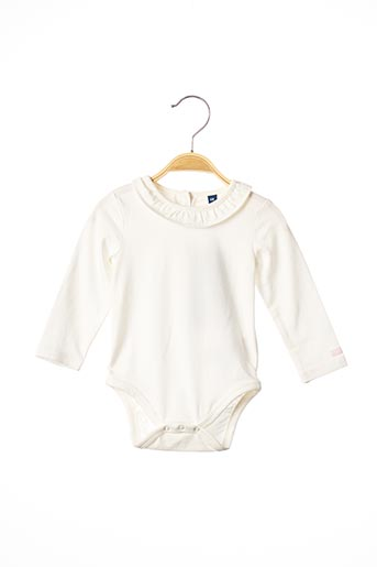Body blanc TOM TAILOR pour fille