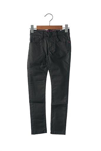 Pantalon casual noir SORRY 4 THE MESS pour fille