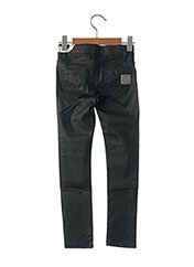 Pantalon casual noir SORRY 4 THE MESS pour fille seconde vue