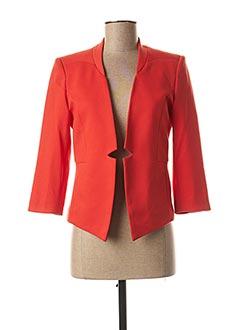 Veste casual orange B.YOUNG pour femme