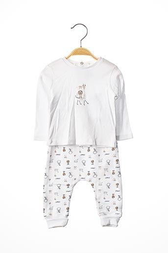 Top/pantalon blanc ABSORBA pour enfant