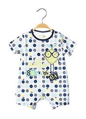 Combishort bleu BOBOLI pour enfant seconde vue