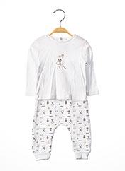 Top/pantalon blanc ABSORBA pour enfant seconde vue