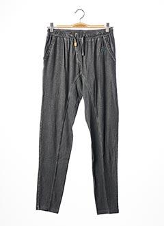 Pantalon casual gris JN-JOY pour fille