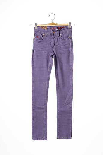 Pantalon casual violet JN-JOY pour fille