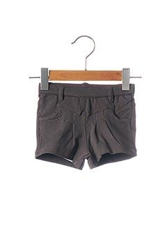 Short gris BOBLI pour garçon