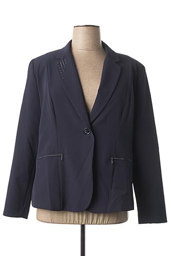 Veste chic / Blazer bleu FRED SABATIER pour femme