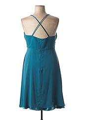 Robe mi-longue bleu FASHION NEW YORK pour femme seconde vue