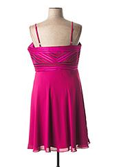 Robe mi-longue rose CREATIF PARIS pour femme seconde vue