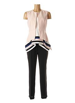 Top/pantalon rose EXALTATION pour femme