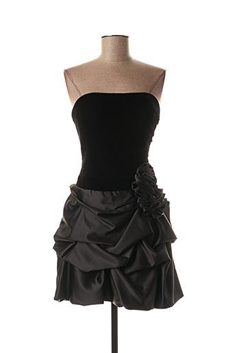 Robe courte noir FASHION NEW YORK pour femme