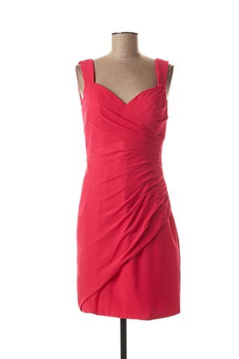 Robe mi-longue rose SYLFANY pour femme