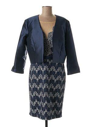 Veste/robe bleu FASHION NEW YORK pour femme