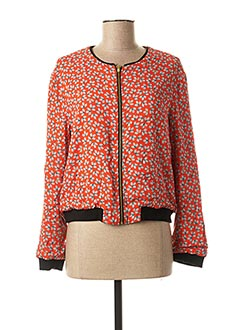 Blouson rouge I.CODE (By IKKS) pour femme