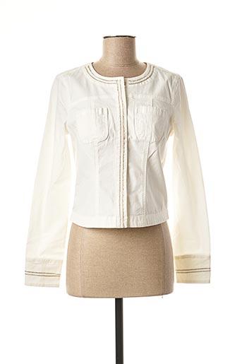 Veste casual blanc MORGAN pour femme