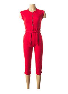 Combi-pantalon rouge GARCIA pour fille
